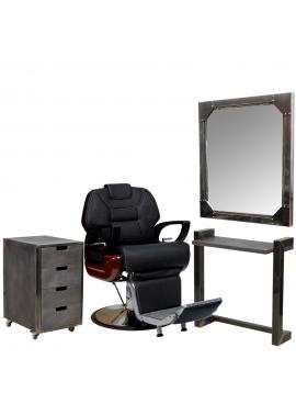 Комплект мебели для барбера LOFT STANDART