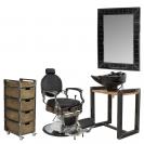 Комплект мебели для барбера LOFT VINTAGE