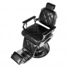 Кресло для барбершопа Оксфорд, черный глянцевый