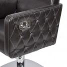 Мужское парикмахерское кресло БМ-166 с прострочкой