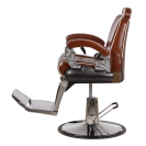 Кресло для барбершопа БМ-8771, коричневый